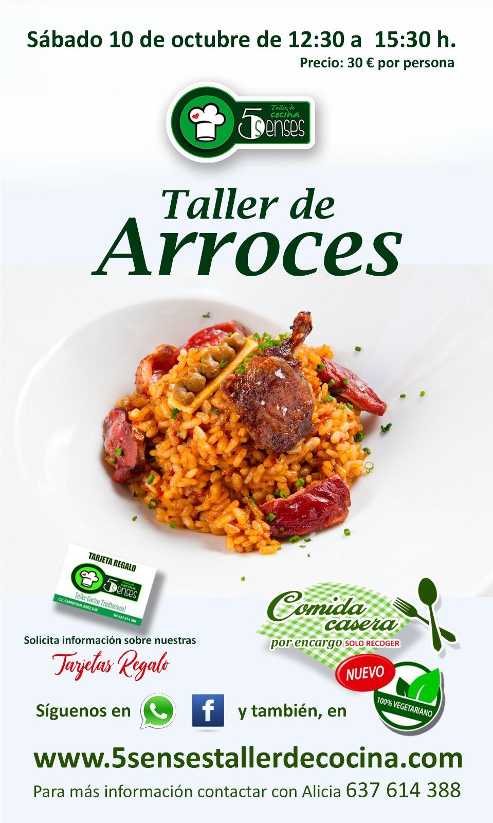TALLER DE ARROCES