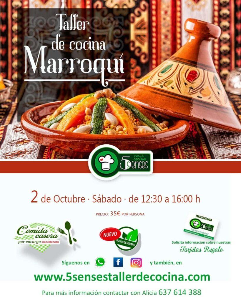 Taller Cocina Marroqui 2 Octubre Jerez