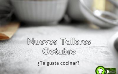Talleres de Cocina en Octubre
