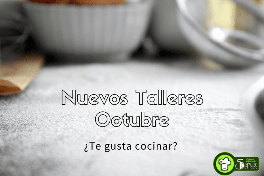 Talleres de Cocina en Jerez en Octubre